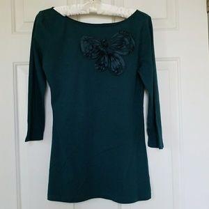 Ann Taylor LOFT embellished top